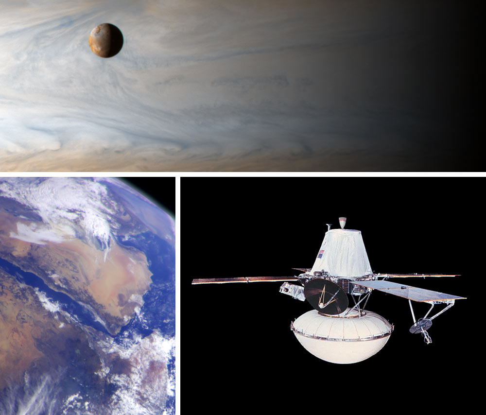 Images Courtesy NASA/JPL-Caltech, Top Panel PIA02879