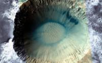Dunes in Crater within Meridiani Planum