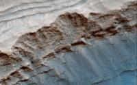 Layers in Gale Crater's Mt. Sharp