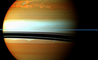 PIA 12829 Saturn: The Tail of Saturn's Huge Northern Storm