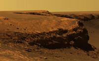 PIA 08809 Mars: Layers of Cape Verde in Victoria Crater