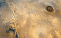 PIA 02987 Mars: Photomosiac of the Tharsis Region