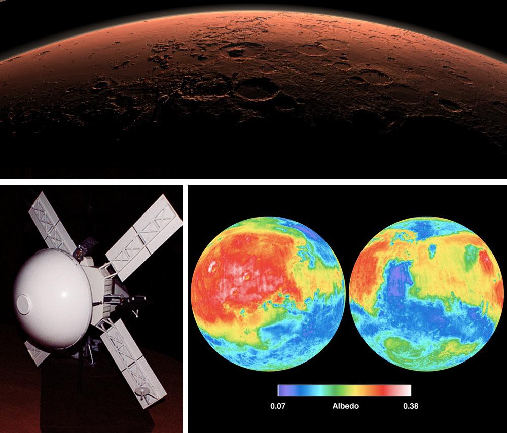 Images Courtesy NASA/JPL-Caltech, Top Panel PIA14293, Bottom Right Panel PIA02816